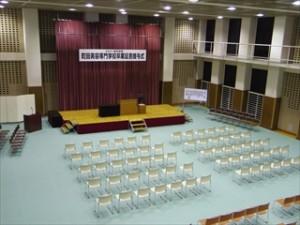 筆記試験&卒業式予行★