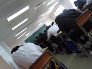 中間試験、最終日!!