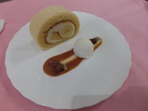 ふわふわキャラメルロールケーキ(7/31体験入学)