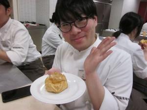 1B洋菓子実習★シューアンシュープリーズ★