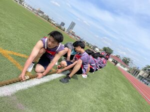 白熱の体育祭!!