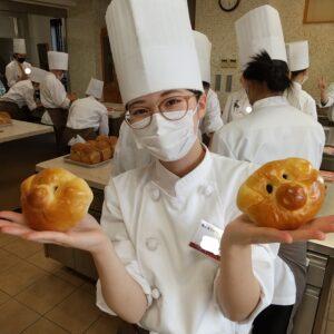 1Aクラスのパン実習~(≧▽≦)